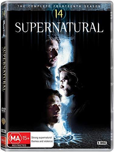 Supernatural Saison 14 sur DVD - Import avec langue française + version originale