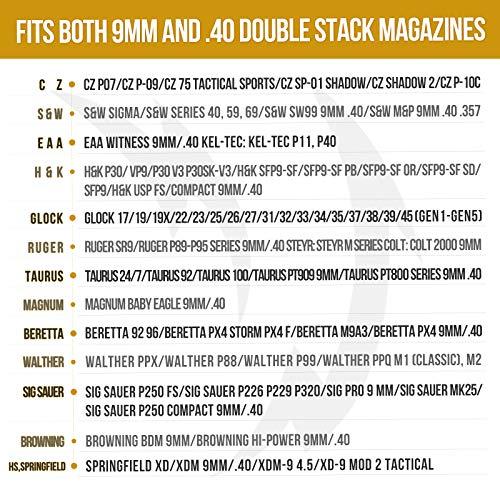 OneTigris Universal Double Magazine Holster Fits 2