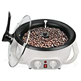 Coffee Roaster Machine for Home Use 110V Household Electric Coffee Bean Roaster with Timer 800W...