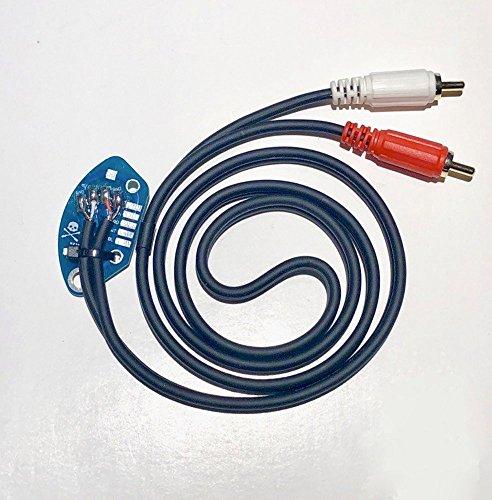 Technics SL1200 oder SL1210 Internally Ground RCA Kabel