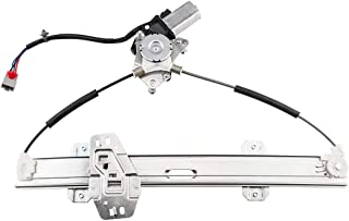 741-734 Front Left Driver Side Power Window Lift Regulator with Motor Assembly Compatible for 1996-2000 Honda Civic
