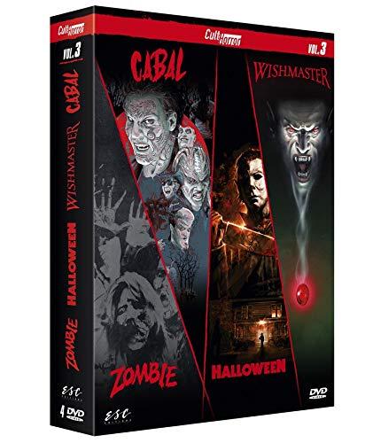 Cult'Horror n° 3 : Zombie + Halloween + Wishmaster + Cabal [Francia] [DVD]