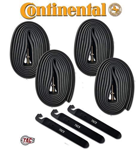 4 Pack - Continental Bike Tube, 29 x 1.75-2.50, 42mm Presta Valve
