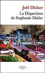 La Disparition de Stephanie Mailer Poche de Joël Dicker
