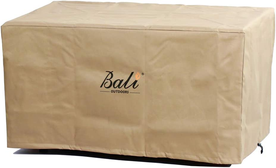 BALI Cheap SALE Start OUTDOORS 42 Inch Rectangle Patio Pit Cover Table Heav Fire famous