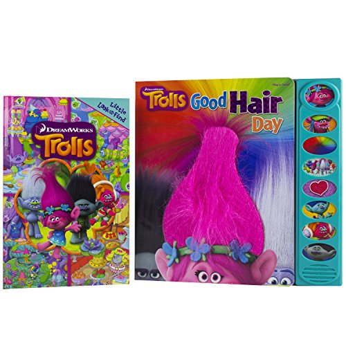DreamWorks Trolls - Sound Book and Little Look and Find Bundle - PI Kids