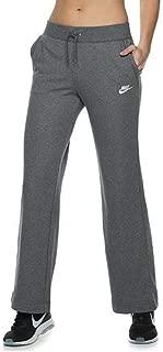 Nike Women's Sportswear Open-Hem Sweatpants X-Small Gray