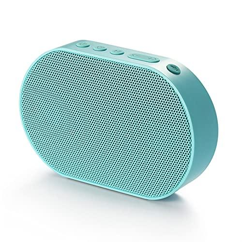 QPLKL Altavoces Bluetooth Altavoz Bluetooth Portátil Al Aire Libre Inalámbrico Speaker Smart 10W Estéreo Música Altavoz Soporte De Voz Alexa 2200mAh 14h Mini Amplificación de Sonido (Color : Blue)