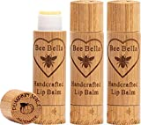 Bee Bella: Lip Balms - With Beeswax, Coconut Oil, Jojoba Oil, Vitamin E Oil, Argan Oil and More for Soft and Smooth Lips - Long-Lasting Moisture - Handcrafted in the USA (Pumpkin Spice, 3 Pack)