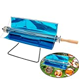 Portable BBQ Grill Solar BBQ Cooker, Solar Grill Stove Oven Smoke-Free Delicious
