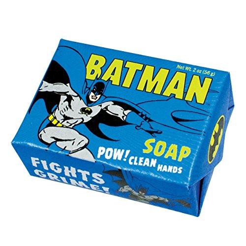DC Comics Batman Soap - 1 Mini Bar of Soap - Made in The USA