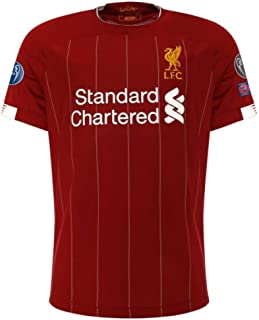 Liverpool FC 2019-2020 Home UCL Jersey Mane #10 (S-XL)