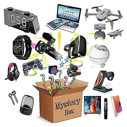 Mystery Box Electronics, Birthday Surprise Box, elektroniska produkter har möjlighet att öppna: bildskärmar, surfplattor, Bluetooth-headset, spelheadset, smarta klockor, etc.