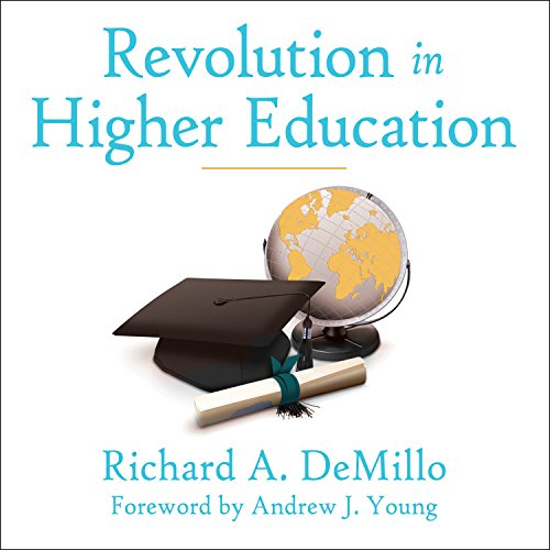 Revolution in Higher Education audiobook cover art