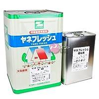 エスケー化研 ヤネフレッシュSi 淡彩色 16kg RC-118 ブラウン