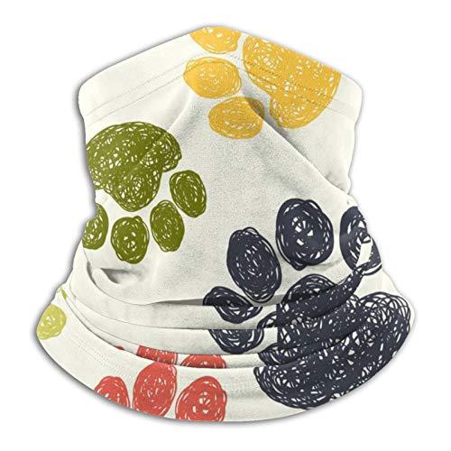 Pañuelo de piel de animal vintage, reutilizable, ajustable, unisex, multifuncional, al aire libre, sol y a prueba de polvo, informal, pasamontañas, estampado bandanas