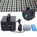 Soldadora de puntos con batería, 220 V, salida 1600 A, batería de precisión, con pantalla digital