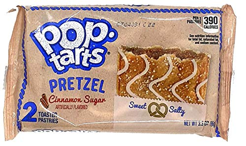 Kellog`s Pop Tarts Pretzel Cinnamon Sugar 2er ( 1 x 96g )