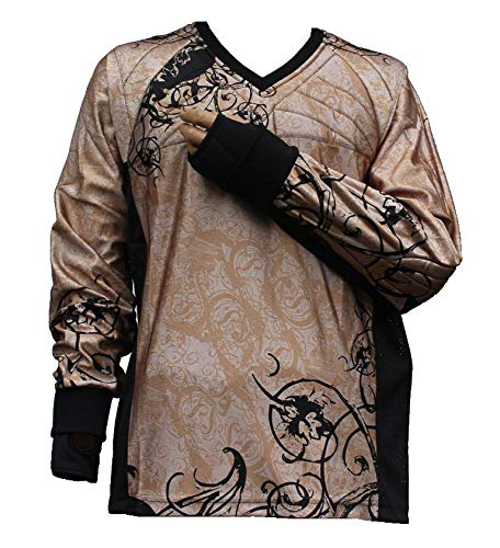 "PBC Paintball Jersey ""Ghost"" Braun (L)"