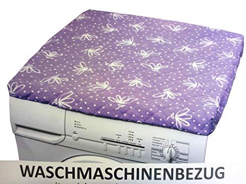 HomeEdition Waschmaschinenbezug mit gepolsterter Unterseite, lila