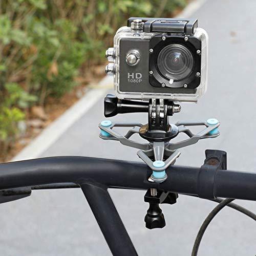 BliliDIY Staffa Fissa Per Tubo Bici Diametro 15Mm-31Mm Per Bici Antivibrazione Staffa Fissa Per Videocamera Gopro Hero Xiaoyi 4K Sport All'Aperto Sport Dji