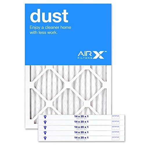AIRx DUST 14x20x1 MERV 8 Pleated Air Filter - Made...