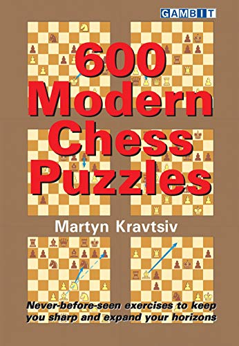 600 Modern Chess Puzzles (English Edition)