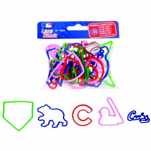 FOCO MLB Chicago Cubs Logo Bandz Bracelets