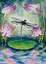 Tree Free Greetings Magic Pond Birthday Cards, 2 Card Set, Dragonfly, Multicolored (14169)