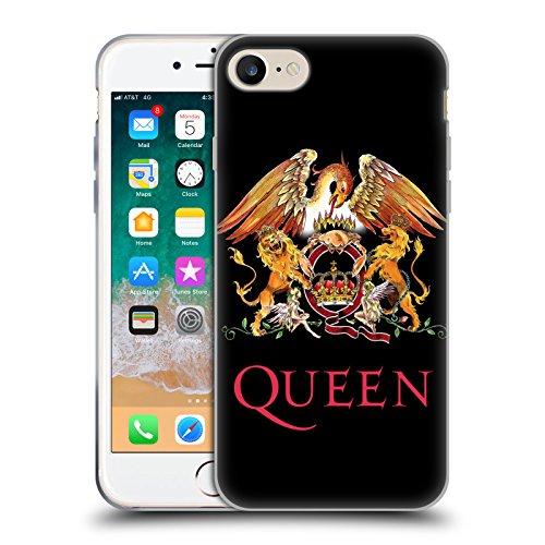 Head Case Designs Licenza Ufficiale Queen Stemma Arte Chiave Cover in Morbido Gel Compatibile con Apple iPhone 7 / iPhone 8 / iPhone SE 2020