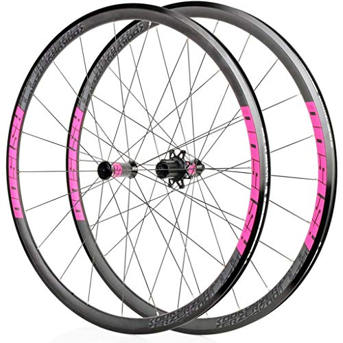 Bicycle Wheelset,Mountain Wheel Set 700C Aluminum Alloy Quick Release Version Peilin Before 2 After 4 Suitable for Bicycles Bike Front Wheel Rear Wheel,E-700C