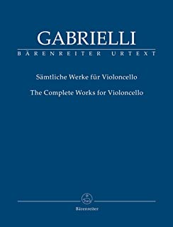 Complete Works for Violoncello