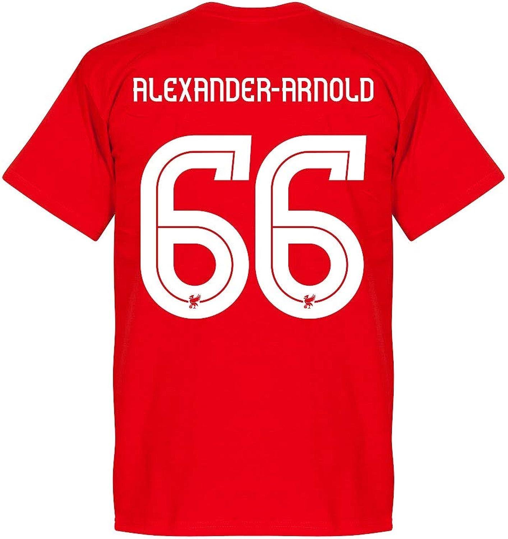 Liverpool AlexanderArnold 66 Team Tee  Red