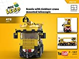 Scania with Liebherr crane mounted telescopic (Instruction Only): MOC LEGO