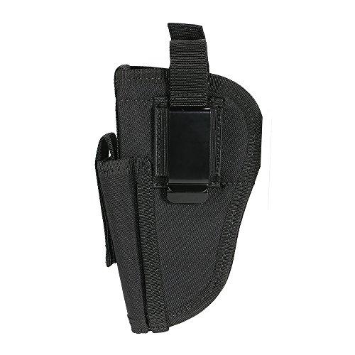 Lixada Rechts Links Austauschbare mit Mag Pouch, Material: Nylon (Black)