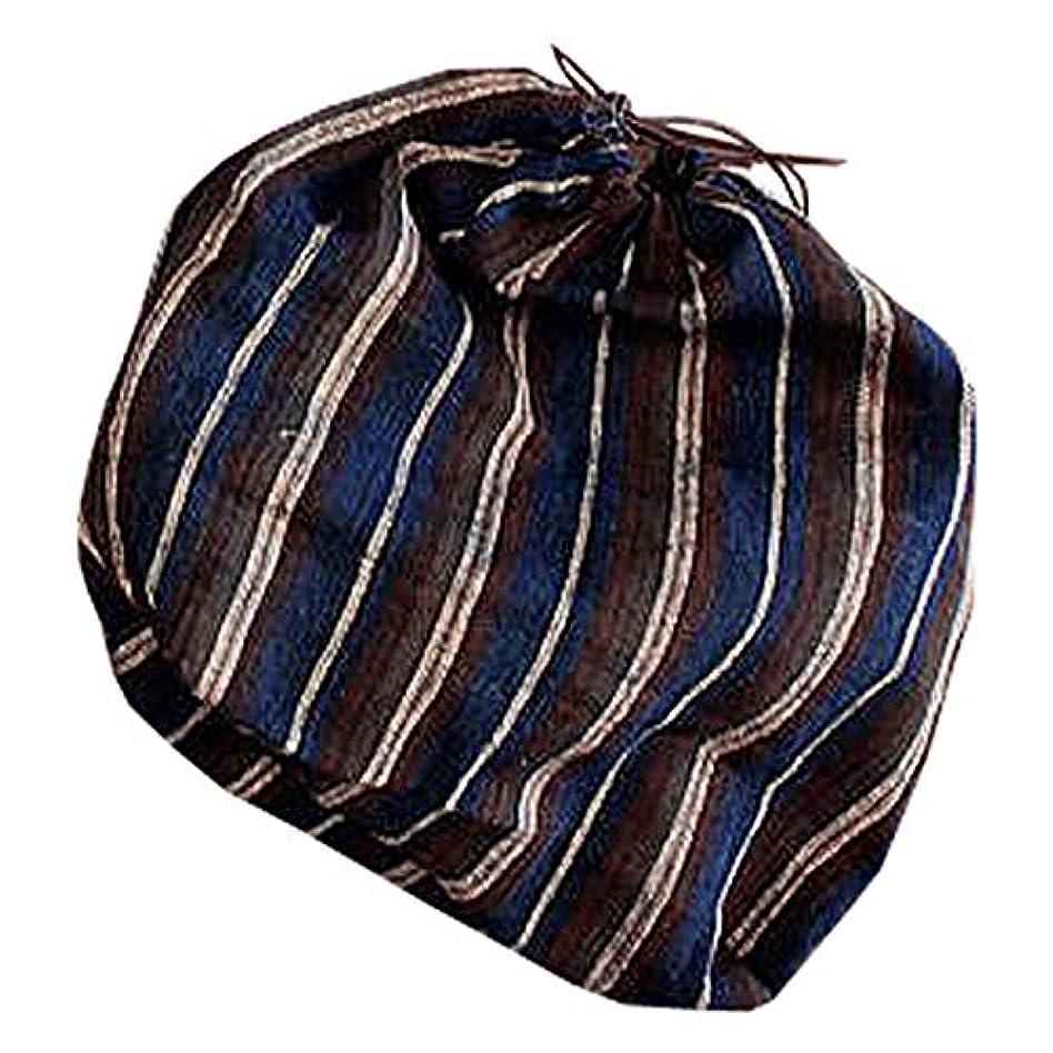 座標なだめる葉を集めるSHOKUの布 山葡萄かごバッグ用 オリジナル巾着袋