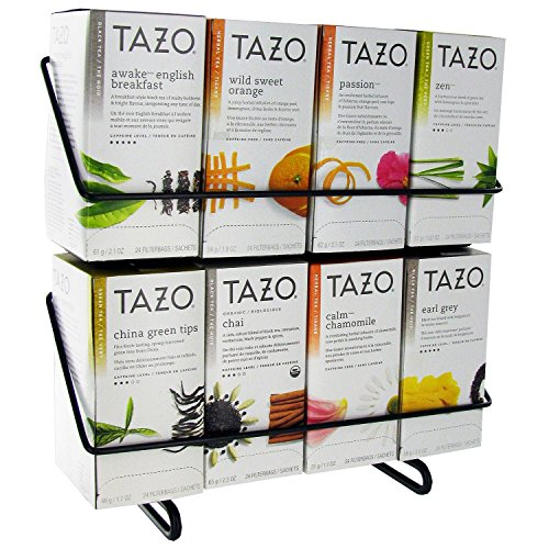 Tazo - Tazo Tea Bag Variety Pack with Display Stand- 24 ct. - 8 boxes - Best Sellers