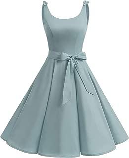 Bbonlinedress 1950's Bowknot Vintage Retro Polka Dot Rockabilly Swing Dress
