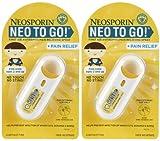 Neosporin Antiseptic Spray withPain Relief - .26 oz - 2 pk