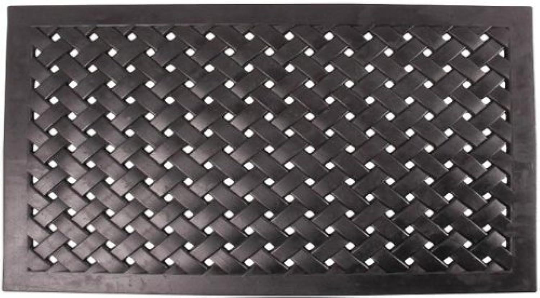 Nach Braided Rubber Doormat, Small