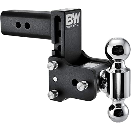 Dual Pin Keyed Lock Andersen Hitch Pin+Weigh Safe 180 Hitch CTB10-2.5 10 Drop Hitch Adjustable Aluminum Trailer Hitch Ball Mount /& Chrome Plated Combo Ball 2.5 Receiver 18,500 LBS GTW
