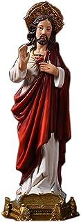 العائلة المقدسة مريم العذراء يسوع يوسف مع الملائكة تمثال التماثيل الراتنج المنزل زينة الكنيسة الحلي المسيح المسيحية الكاثو...
