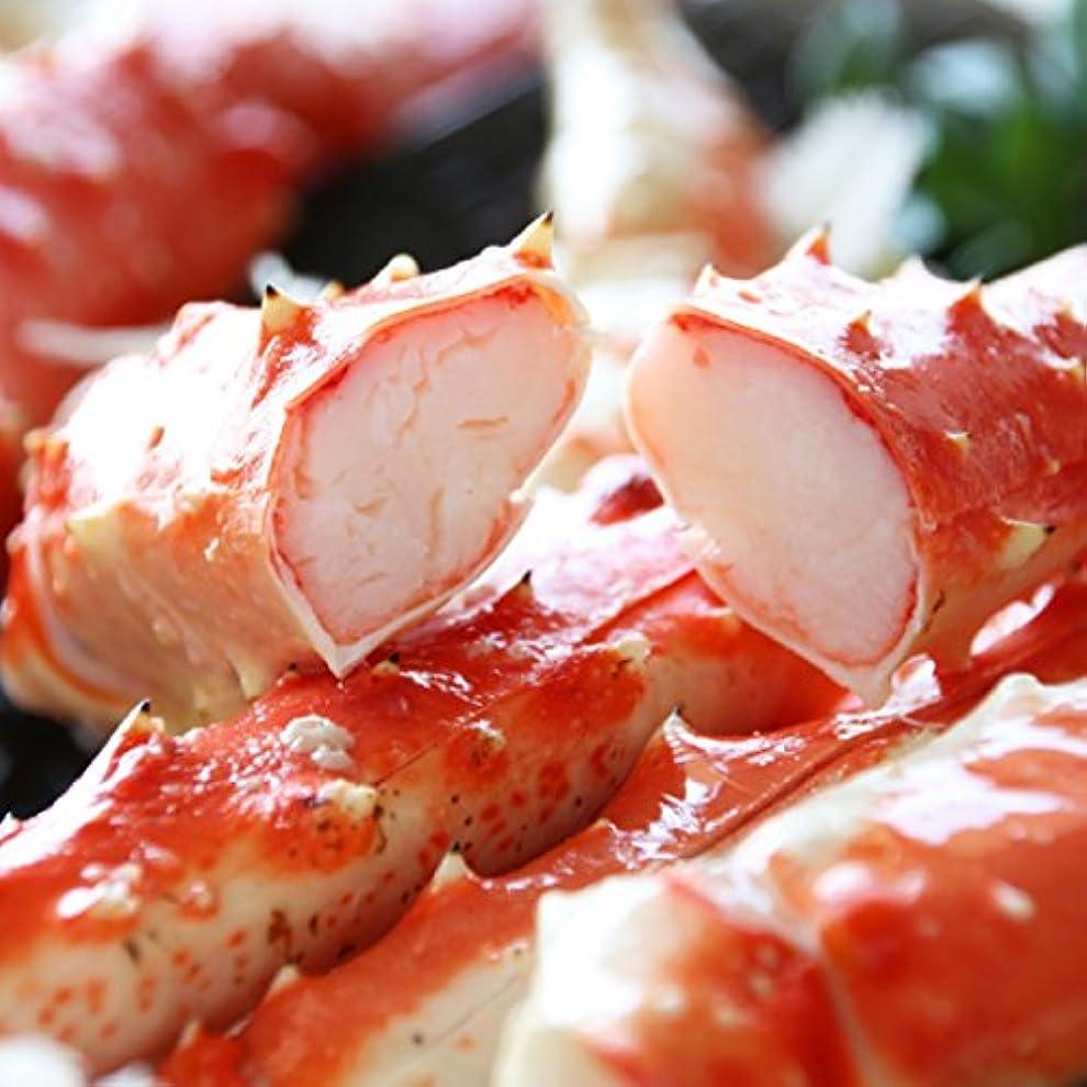 決定的お金ゴム豚【冷凍】 タラバガニ 1.2kg カット済み 切れ目入り アラスカ産 ( ギフト ? 鍋用 かに )