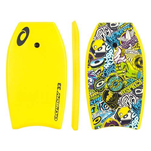 Osprey - Adesivo per tavola da surf con guinzaglio, unisex, Bodyboard...