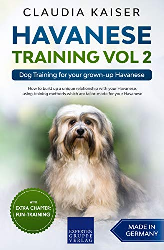 Havanese Training Vol 2: Dog Training for your grown-up Havanese (English Edition)