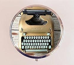 handmade pill box ~ pill storage for writers