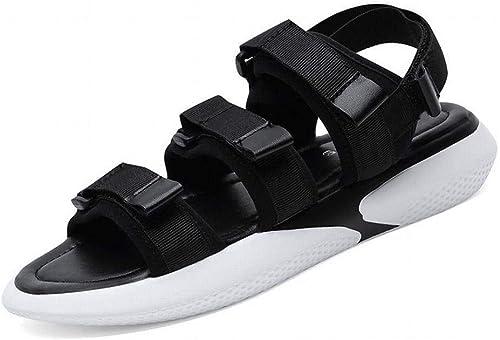 LTN Ltd - sandals sandals Sandales Plates été Femme Femmes Enceintes Antidérapantes Chaussures de Plage Chaussures, Noir, 38  prix de gros