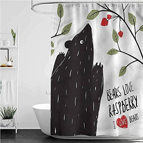 Hotel psichedelico surrealismo nuvola vernice colorata creatività piccola tenda da doccia tenda da doccia con ganci 180 * 200 cm Stampato tessuto in poliestere impermeabile e antimuffa per bagno