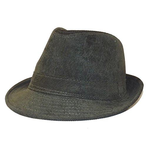 Chapeau-tendance - Chapeau Trilby Homme Kaki - 56 - Homme