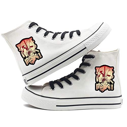 SevenLeo Zapatos Mujer Zapatillas Hombre Zapatos De Niño Niña Adolescente Zapatillas Lona Zapatos Casuales Zapatos Hombre Unisex My Hero Academia Anime Shoes 43